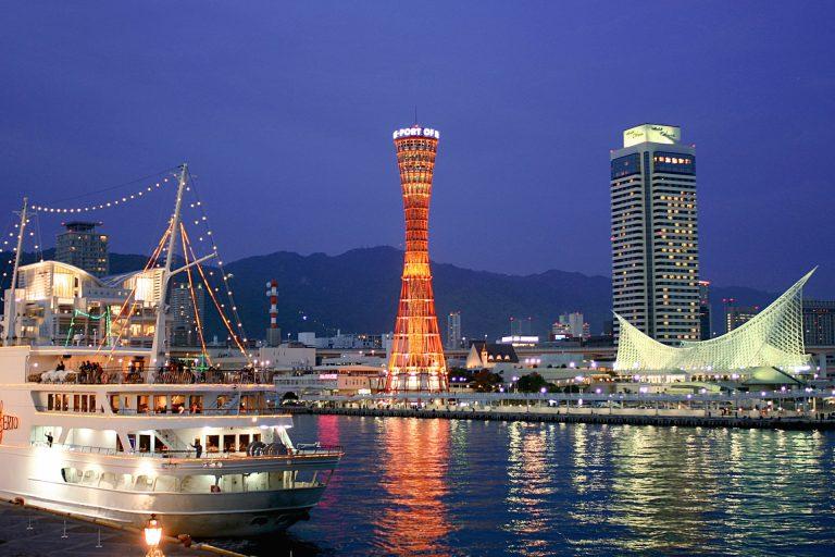 神戸三宮の夜景
