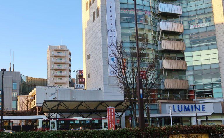 荻窪駅前の風景