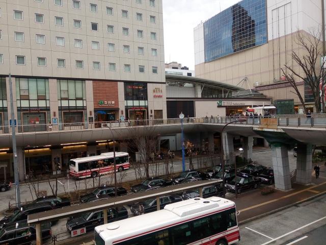 立川駅前の風景