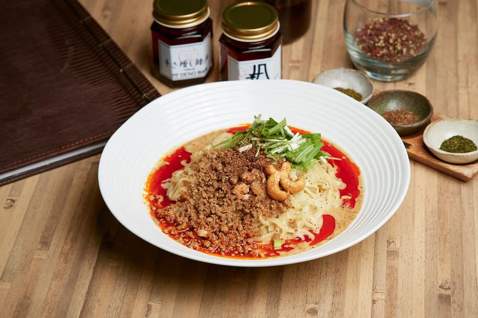銀座の担担麺専門店・175°DENO担担麺の汁なし担担麺