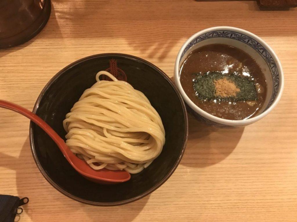 五反田のラーメン屋・三田製麺所のメニュー一例
