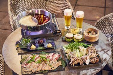 渋谷の景色を一望!開放的なルーフトップテラス「鍋TERRACE」がオープン