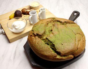 プルプルふわふわシュワシュワな台湾カステラパンケーキと宇治抹茶がコラボ!OMATCHA SALONがコラボメニュー販売