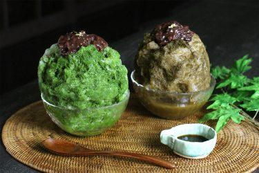 夏限定の極上和スイーツ!「黒十 神戸本店」が、お茶を使ったかき氷を期間限定で提供
