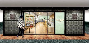 新メニュー「マリトッツォ」が登場!「GODIVA cafe Ginza」が、Echika fit銀座にグランドオープン