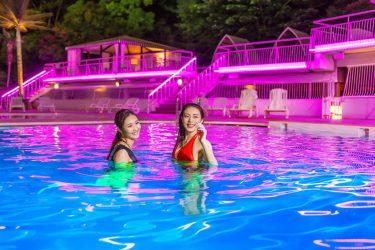 日帰りでお手軽リゾート体験!ホテルニューオータニが、女性限定のナイトプール&限定アメニティ付プランを発売