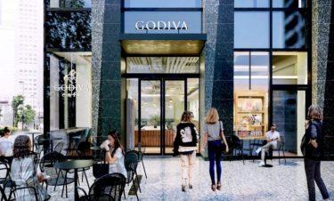 秋のシーズナル限定メニューを先行販売!ゴディバカフェ5号店「GODIVA cafe Nihonbashi」が、日本橋にオープン