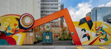 おいしい食の未来を体験できる野外フードコート「Beeat!!八重洲」が、東京駅八重洲口正面にオープン!